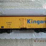 3001413 Kingan 36' Wood Side reefer car