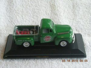 467431 1948 ford coca cola pick up truck