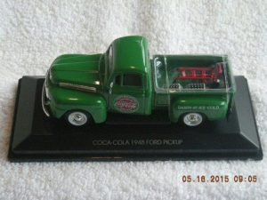 467431 1948 Ford Coca-Cola pick up truck