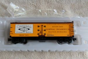 3001512 Central Creamery 40' wood side reefer car