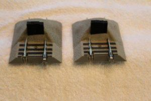 49893 S Gauge Earthen bumpers