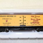 20003300 Monarch Brewing Company 40' wood side reefer car y