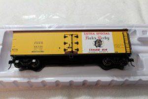 3002543 Finks Purple Ribbon Beer 40' wood side reefer