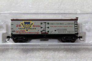 50002239 Stokely's Vegetables 40' wood side reefer car