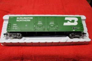 3002318 Burlington Northern 53' Evans double plug door box car