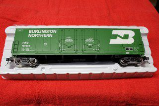 3002318 Burlington Northern 53' Evans double plug door box car
