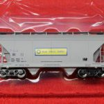46517 Blue Circle Cement ACF 2 bay hopper car