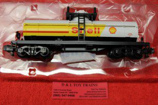 47959 Shell Single Dome Tank Car D L Toy Trains