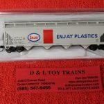 50003519 Atlas N scale Enjay Plastics ACF 4 bay covered hopper car