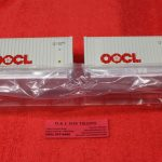 2000012 Atlas O Scale OOCL 20' containers