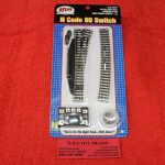 2701 Atlas N Scale Code 80 remote right hand switch