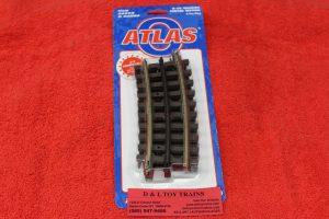 "6068 Atlas O 3 rail 36"" 1/4 curve track"