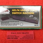 65 Atlas HO/N Scale under table switch machine