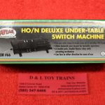 66 Atlas HO/N scale deluxe under table switch machine