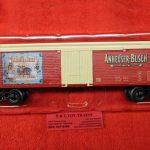 85246 Lionel O Gauge Anheuser Busch reefer car