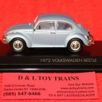 43219BL Lucky Die Cast 1:43rd scale 1972 Volkswagen Beetle car