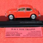 43219RD Lucky Die Cast 1:43rd scale 1972 Volkswagen Beetle car