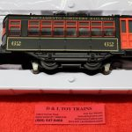 84294 Lionel O Scale Sacramento Northern trolly