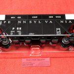 84366 Lionel O Scale Pennsylvania wood chip hopper car
