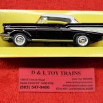 94201BK Lucky diecast 1:43rd scale 1957 Chevy Bel Air car