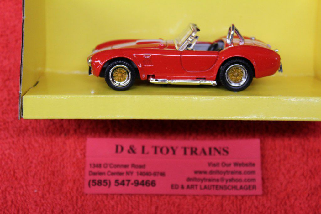 94227RD 1964 Shelby Cobra 427 Red Car