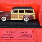 94251bu Yatming 1:43rd scale 1948 Ford Woody car