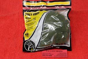 178 Woodland Scenics green poly fiber