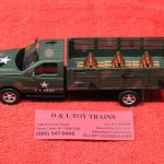 279-4208 Menards 1:48th scale Ford US Army stake truck