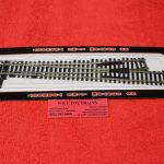 283 Atlas HO scale code 100 #6 left hand turnout