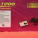 40-1000 MTH O scale 3 rail Z1000 transformer