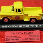 Motor City 1:43rd scale 1955 Chevy Coca Cola stepside pickup