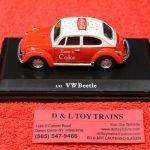 440030 Motor City 1:43rd scale 1966 Volkswagen Coca Cola Beetle