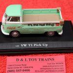 445738 Motor City 1:43rd scale Volkswagen Coca Cola T1 pickup