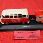 467433 Motor City 1:43rd scale Volkswagen Coca Cola Samba Bus with trailer