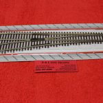 505 Atlas HO scale code 83 #6 left hand turnout