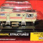 5061 Woodland Scenics HO scale double decker trailer home