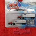 51172 Classic Metal Works 1:160 scale 1954 Ford Associated Truck Lines box trailer