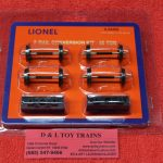 84462Lionel O scale 50 ton 2 rail conversion kit