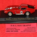 94242RD Yatming 1:43rd scale 1965 Shelby Cobra Daytona Coupe car