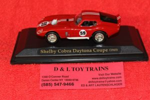 94242RD Yatming 1:43rd scale 1965 Shelby Cobra Daytona Coupe car