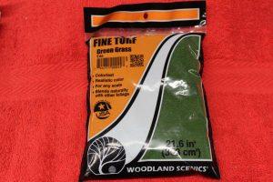 T45 Woodland Scenics Green Grass fine turf