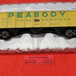 2001821 Atlas O scale 3 rail Peabody 70 ton 9 panel hopper car