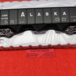 2001869 Atlas O scale 2 rail Alaska 70 ton 9 panel hopper car