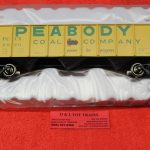 2001871 Atlas O scale 2 rail Peabody 70 ton 9 panel hopper car