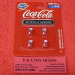 20229 Classic Metal Works HO Scale 1960's Coca Cola vending machines