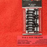 "40051 Intermountain HO scale 36"" wheel sets"