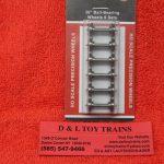 "40059 Intermountain HO scale 36"" ball bearing wheel sets"