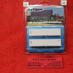 4101 Intermountain N scale Itel 40' refrigerated container set