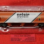 47020 Intermountain HO scale Sclair ACF 4650 3 bay hopper car
