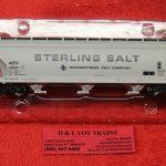 47026 Intermountain HO scale Sterling Salt ACF 4650 3 bay hopper car